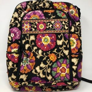 Vera Bradley Laptop Backpack Suzani